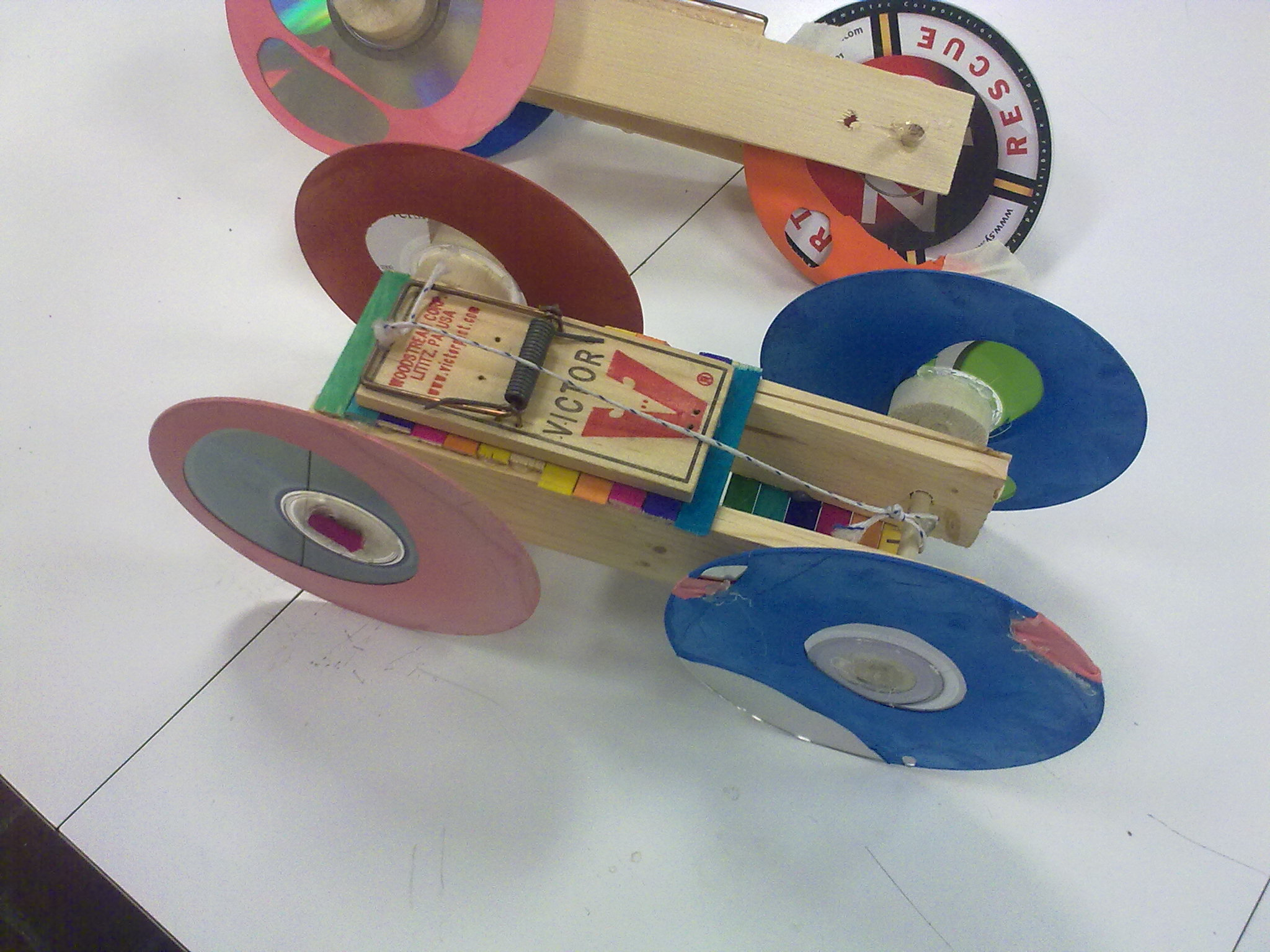 To Design and Build a Mousetrap Powered Car Essay Sample