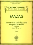 Mazas 75 Melodious and Progressive Studies