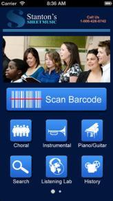 stanton's bar code scanner