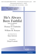 C6157 Hes Always Been Faithful SATB