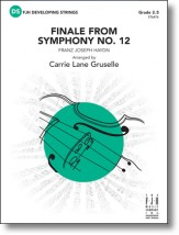 finale from symphony no. 12 f.j. haydn carrie lane gruselle