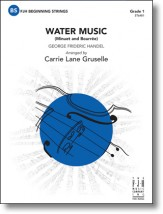 water music g.f. handel carrie lane gruselle
