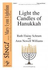 light the candles of hanukkah ruth elaine schram aren newell williams