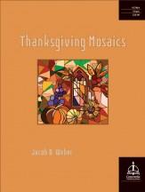 thanksgiving mosaics jacob b. weber