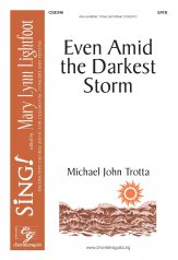 even amid the darkest storm michael john trotta