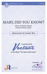 mary did you know jamey ray voctave
