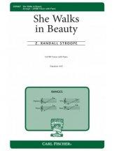 she walks in beauty z. randall stroope