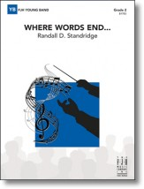 where words end randall standridge