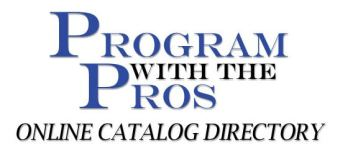 online catalog directory program with the pros