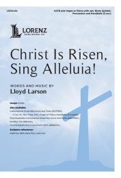 christ is risen sing alleluia lloyd larson